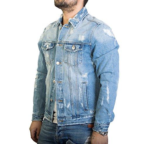 Jeans Uomo Slavato Antony Giacca In Morale wqCC1txR