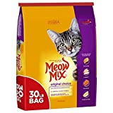 Meow Mix 30 Lb Original Choice Dry Cat Food, Large