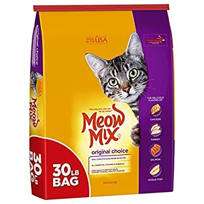 Cat Food Meow Mix Original Choice Dry Cat Food, 30 Pounds [tag]
