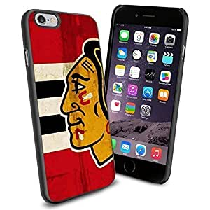 NHL Chicago BlackHawks, Cool iphone 4 4s Case Collector iPhone TPU Rubber Case Black