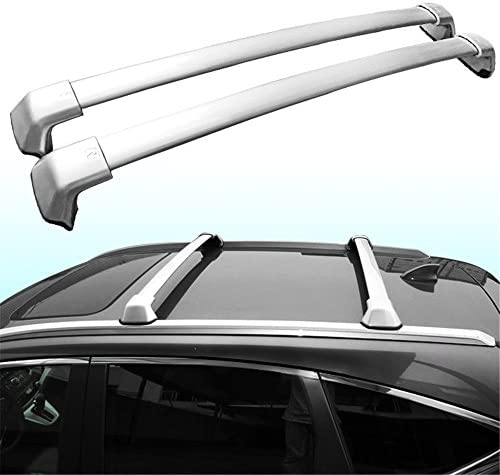Kingcher Roof Rack Fit for Honda CRV 2012 2013 2014 2015 2016 OEM Style Baggage Luggage Carrier Holder Rail Cross Bar Crossbar