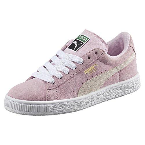 Mädchen Classic Lady Suede Puma Gold Junior Sneaker Pink team white wPBxEq