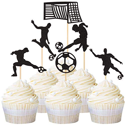 Donoter 24 Pcs Happy Father/'s Day Cupcake Topper Picks for Fathers Day Party Cake Decorations