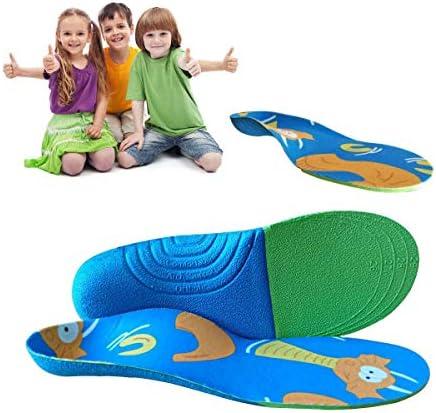Lucarres Foot Active Comfort Premium Einlegesohlen, Volle Länge, Fußgewölbe, Orthopädische Einlegesohle, Fersenschmerzen, Fasziitis, Achillessehnenentzündung, Free for Cutting, L: 21.5cm(30-34)