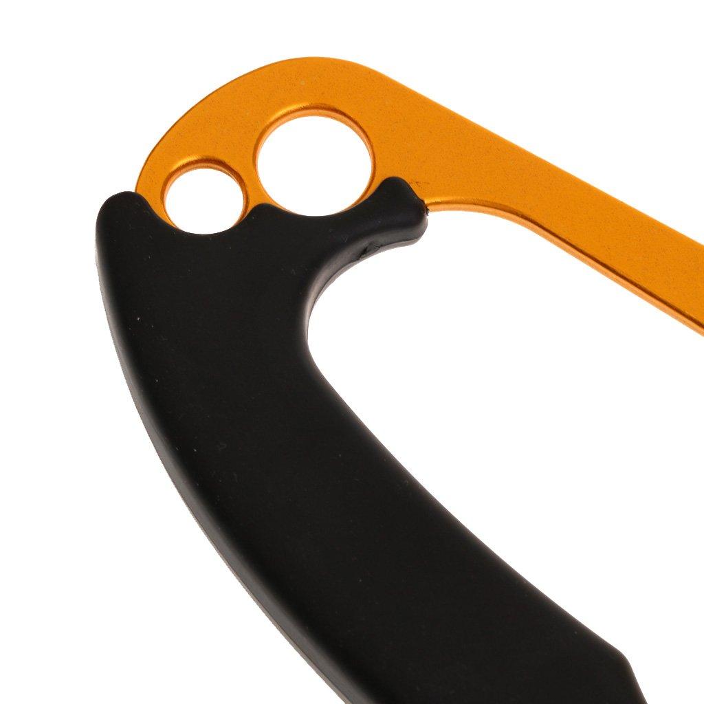 Unbekannt Handsteigklemme Erwachsene Seilklemme Hand Ascender Abseilger/ät Sicherungsger/ät