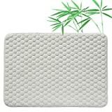 Quilted Pack N Play Crib Mattress Pad Liner Thicker Waterproof Changing Pad Liner by BlueSnail Design 27X39 INCH (WHITE FOOTBALL DESIGN)