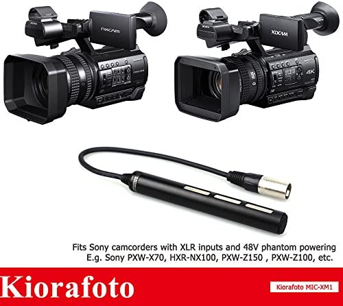 with SDC-26 Case Video Cameras and Phones Panasonic NV-DS8 Camcorder External Microphone Vidpro XM-AD5 Mini Pre-Amp Smart Mixer with Dual Condenser Microphones for DSLR/'s