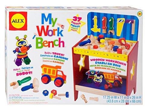Alex Toys Pretend Play My Workbench by Alex by Alex