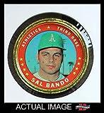 1971 Topps Coins # 132 Sal Bando Oakland Athletics (Baseball Card) Dean's Cards 3 - VG Athletics