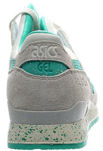 Asics Gel-Lyte III Hombre US 9.5 Blanco Zapato para Correr