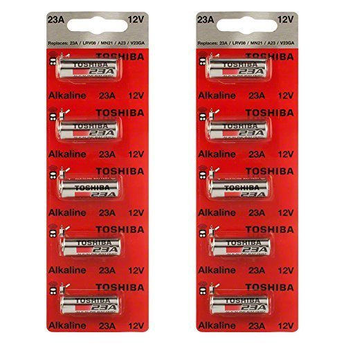 Toshiba Replacement Remotes (Toshiba Alkaline A23S A23 GP23AE MN21 23GA 12 Volt Battery (10 Batteries))