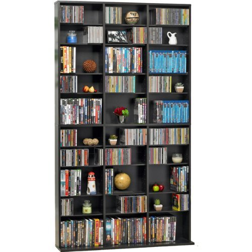 Atlantic- Espresso Oskar Wood Multimedia Storage Unit