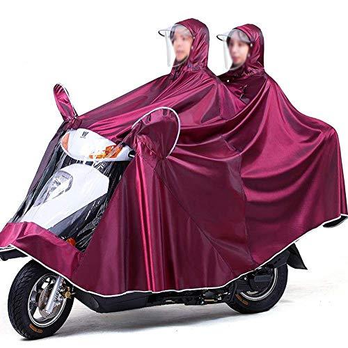 Capuchon Moto Double Imperméable Électrique 4xl rouge Lemon Montant Adulte Épaississement Raincoat Vêtements Poncho Sugar Pluie Augmentation Vélo Poncho De X44BS1qw