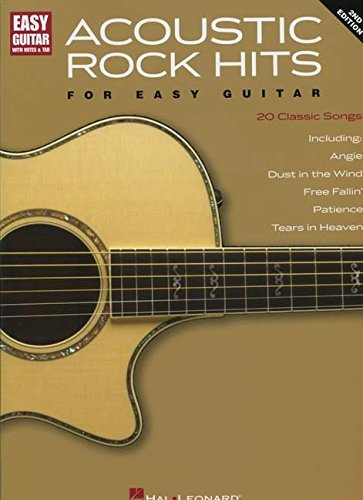 Free Guitar Tab Books (ACOUSTIC ROCK HITS FOR EASY  GUITAR 2ND EDITION           WITH NOTES & TAB)