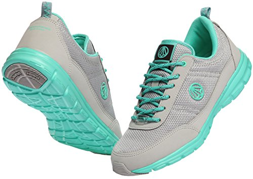 Paperplanes-1201 Unisex Super Light Weight Mesh Walking Sneakers 1201-gray Mint m02mufVS