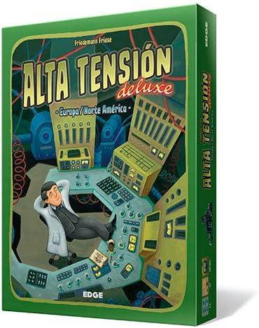 Edge Entertainment - Alta Tensión Deluxe, Juego de Mesa (FU20): Amazon.es: Juguetes y juegos