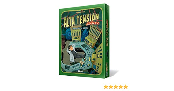 Edge Entertainment - Alta Tensión Deluxe, Juego de Mesa (FU20 ...