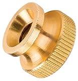 RAF Electronic Hardware AJ-727 Brass Knurled Thumb Nut 3/8-16 Coarse Thd., Knurled Thumb Nuts