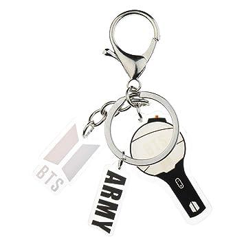Amazon.com : Youyouchard Kpop BTS Keychain BLAKCPINK EXO ...