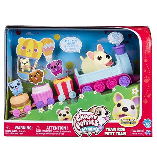 Chubby Puppies & Friends - Mini Theme Park Train Set