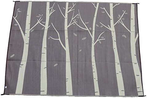 Snowbird Light Reversible Mat-Forest 9 ft. x 12 ft.