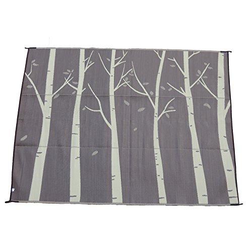 Snowbird Light Reversible Mat-Forest 9 ft. x 12 ft. (Beige/Brown)