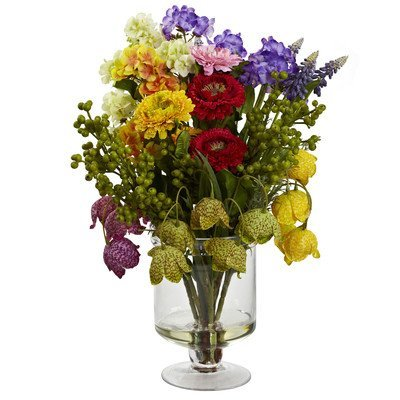 Nearly-Natural-4987-Spring-Floral-Arrangement