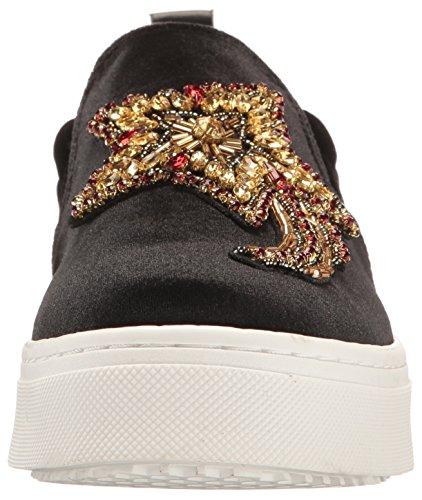 Sneaker Sam Women's Edelman 2 Black Leila Velvet xaIzwSq0In