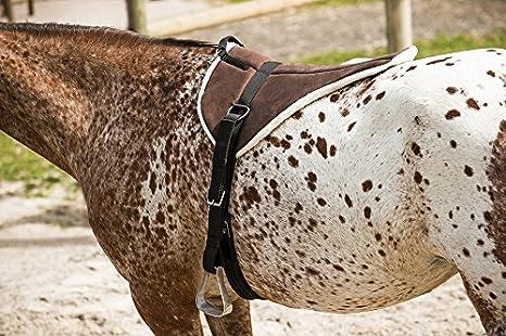 Heinick Reitkissen Reitpad Sattelkissen ~ Schwarz ~ Microfaser Pony Pferd NEU