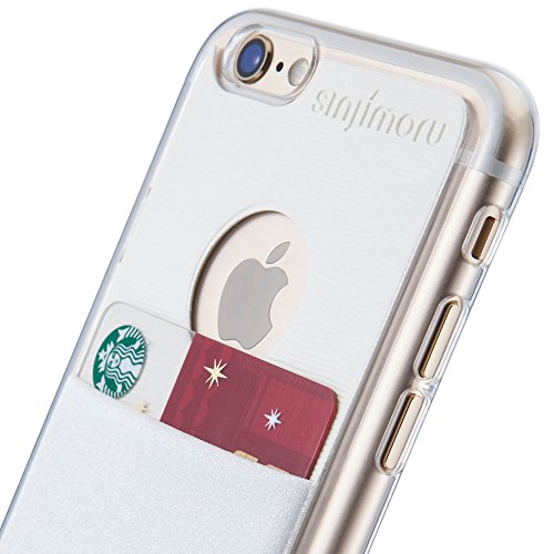 sinjimoru-transparent-hard-case-with-card-holder-for-apple-iphone-6-white