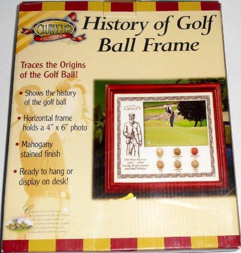 (History of Golf Ball Frame)