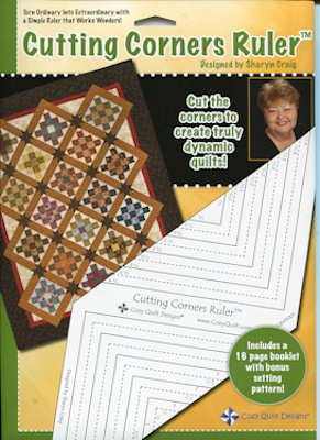 Cozy Quilt Designs CQD05003 Cutting Corner Ruler