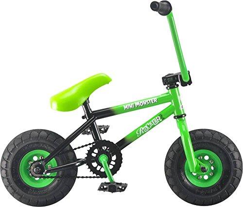 Rocker BMX Mini BMX Bike iROK+ Mini Monster Green RKR