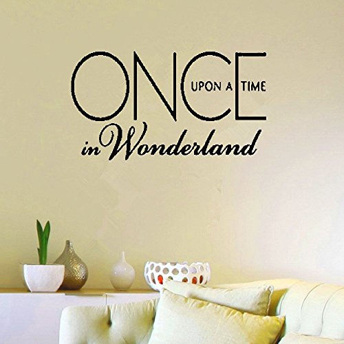 Wall Stickers Art Decor Decals Once Upon a Time in Wonderland (Once Upon A Time In Wonderland Home)
