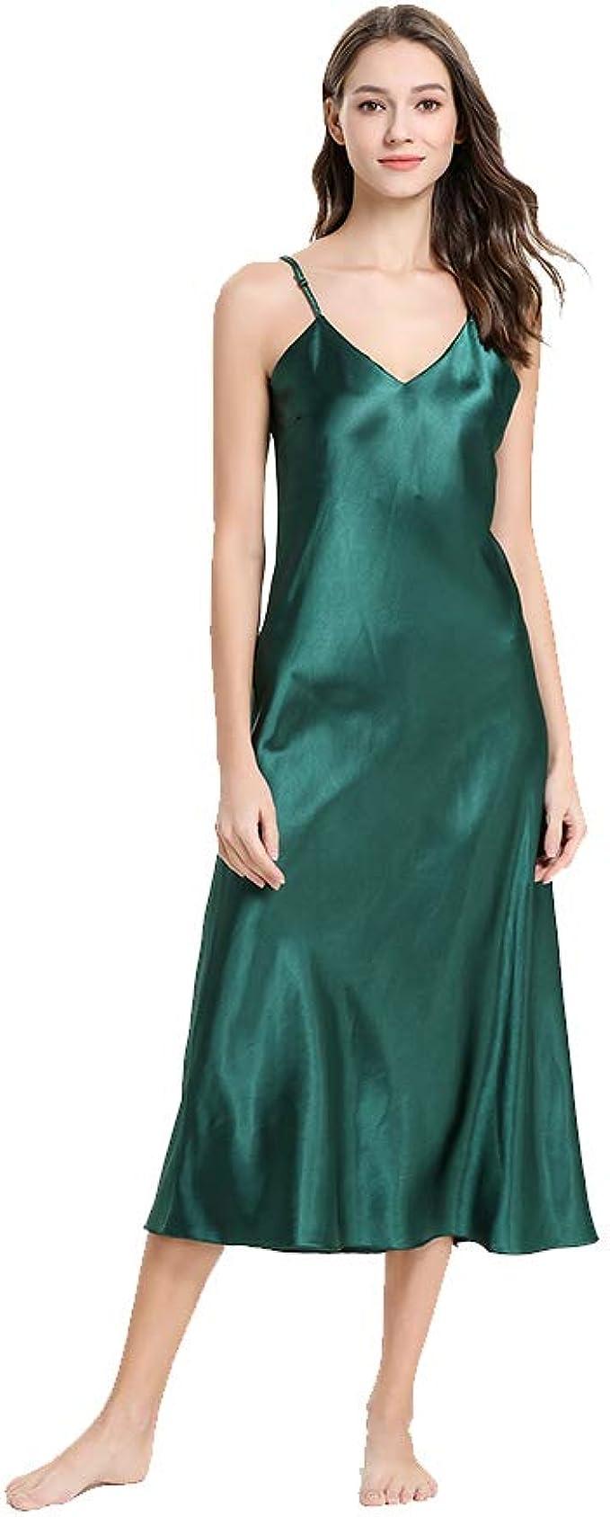 Mini Balabala Damen Satin Nachthemd Babydoll Negligee Rückenfrei Nachtkleid  Nachtwäsche Kleid Lingerie Sleepwear kurz