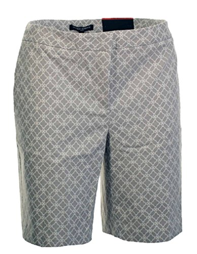 Mario Serrani Womens Bermuda Short (Size 8, Light Grey)