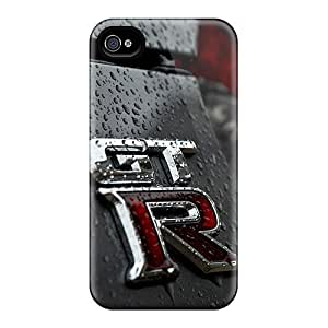 Cases-best-covers Iphone 4/4s Comfortable Phone Hard Cover Custom Fashion Nissan Gtr Pictures [lLe5319WuMe]