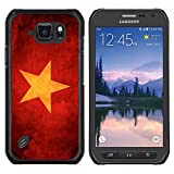 // PHONE CASE GIFT // Fashion Hard Case PC Protective Cover Case for Samsung Galaxy S6 Active G890A / Red Soviet Union Star /