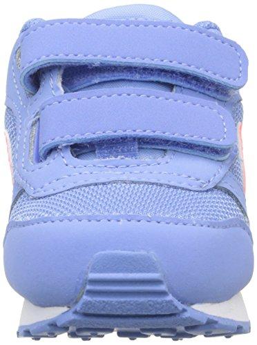 Nike Fille 2 Baskets obsidian Blue Bleu Md bright Basses Runner chalk Mango 7wx6r7