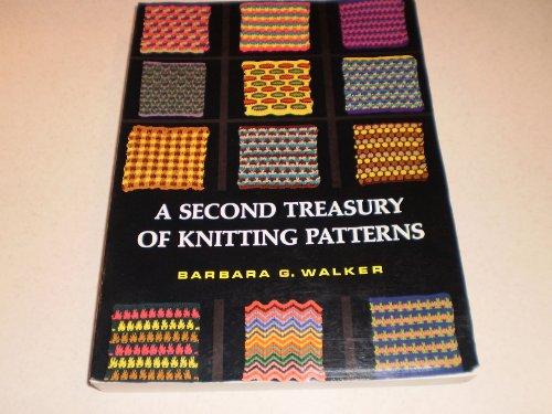 A Second Treasury Of Knitting Patterns : Knitting Patterns - USA