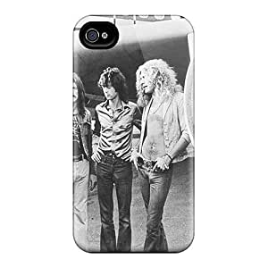 Hot AhS3764AxXC Led Zeppelin Tpu Case Cover Compatible With Iphone 4/4s
