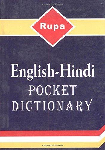 Rupa English-Hindi Pocket Dictionary [2/1/2006] V. P. Sharma ebook