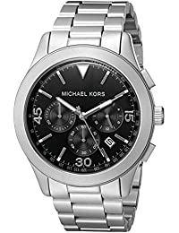 Men's Gareth Silver-Tone Watch MK8469