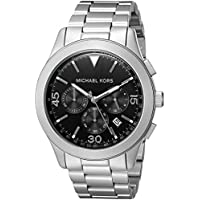 Michael Kors Men's Gareth Silver-Tone Watch MK8469
