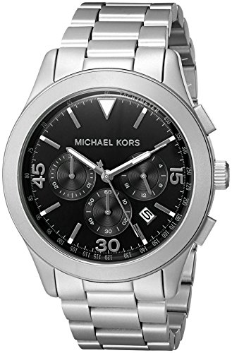 Michael Kors Men's Gareth Silver-Tone Watch MK8469