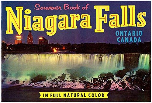 Souvenir Book of Niagara Falls, Ontario Canada