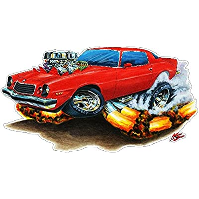 1976-79 Camaro FB Wall Decal Vintage 3D Car Movable Stickers Vinyl Wall Stickers for Kids Room: Baby