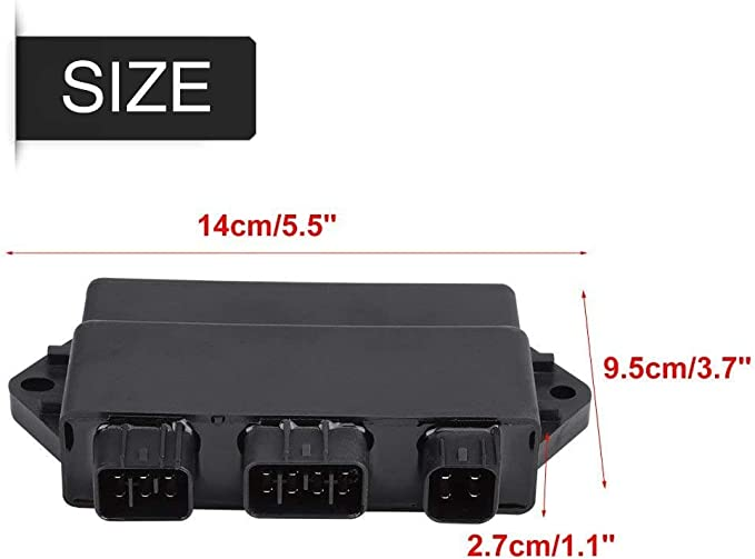 # 5UH-85540-00-00 JEM/&JULES High Performance CDI Box For Yamaha YFM 350 Grizzly//Wolverine//Bruin 2004-2014 Repl