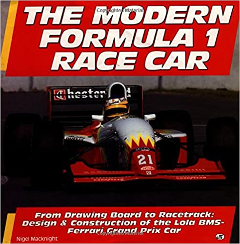 From Drawing Board to Racetrack The Modern Formula 1 Race Car