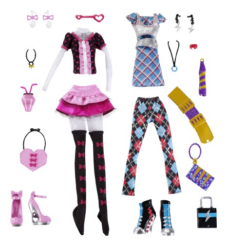 Monster High Day at the Maul Fashions Giftset -
